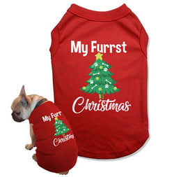 My Fuurst Christmas Dog Tank Top - DOG-27