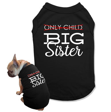 Big Sister Dog Tank Top - DOG-40