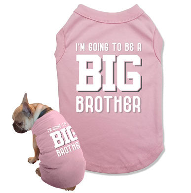 I'm Going To Be A Big Brother Dog Tank Top - DOG-44