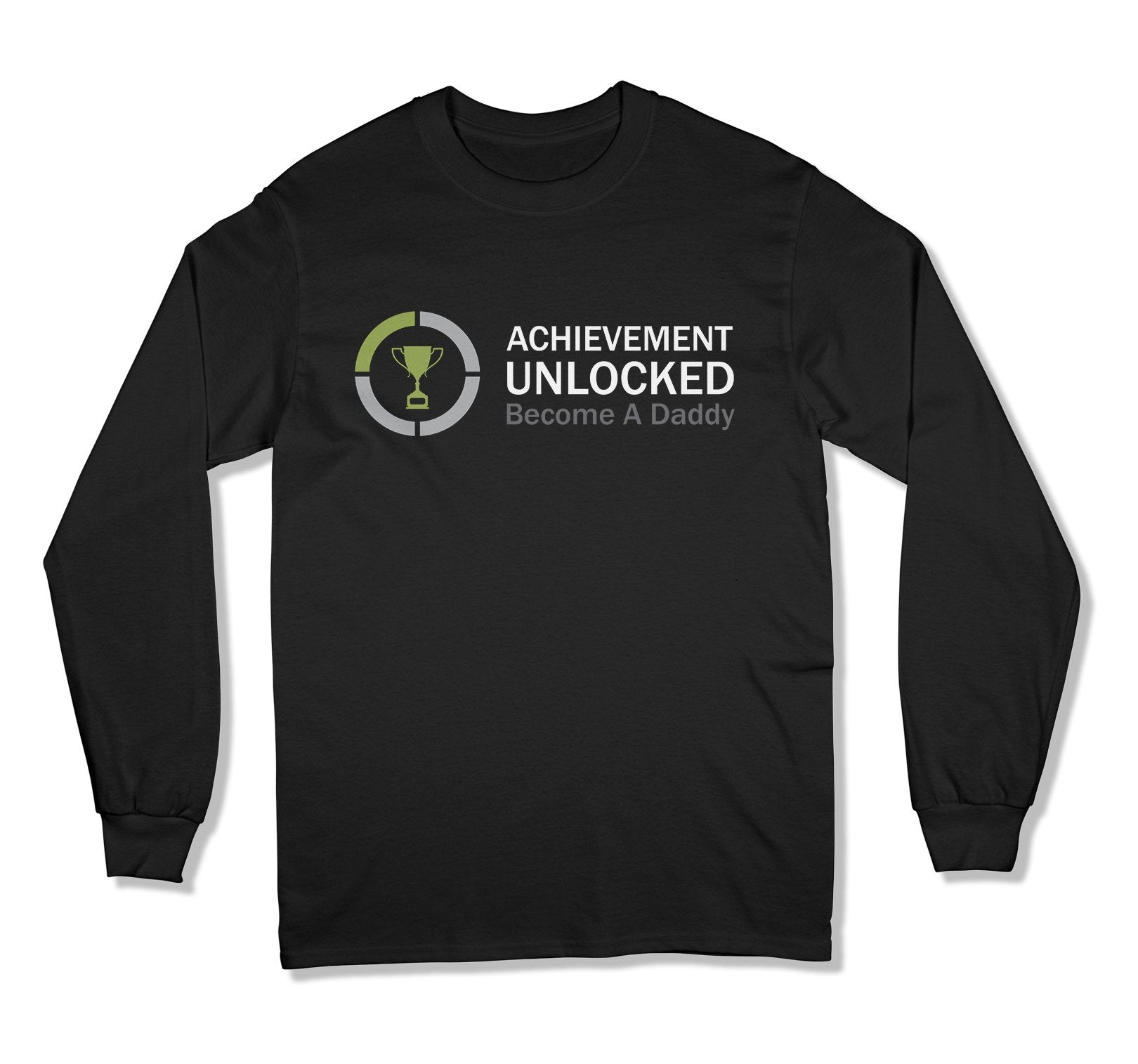 Achievement Unlocked Become a Daddy T-Shirt - FAT-03