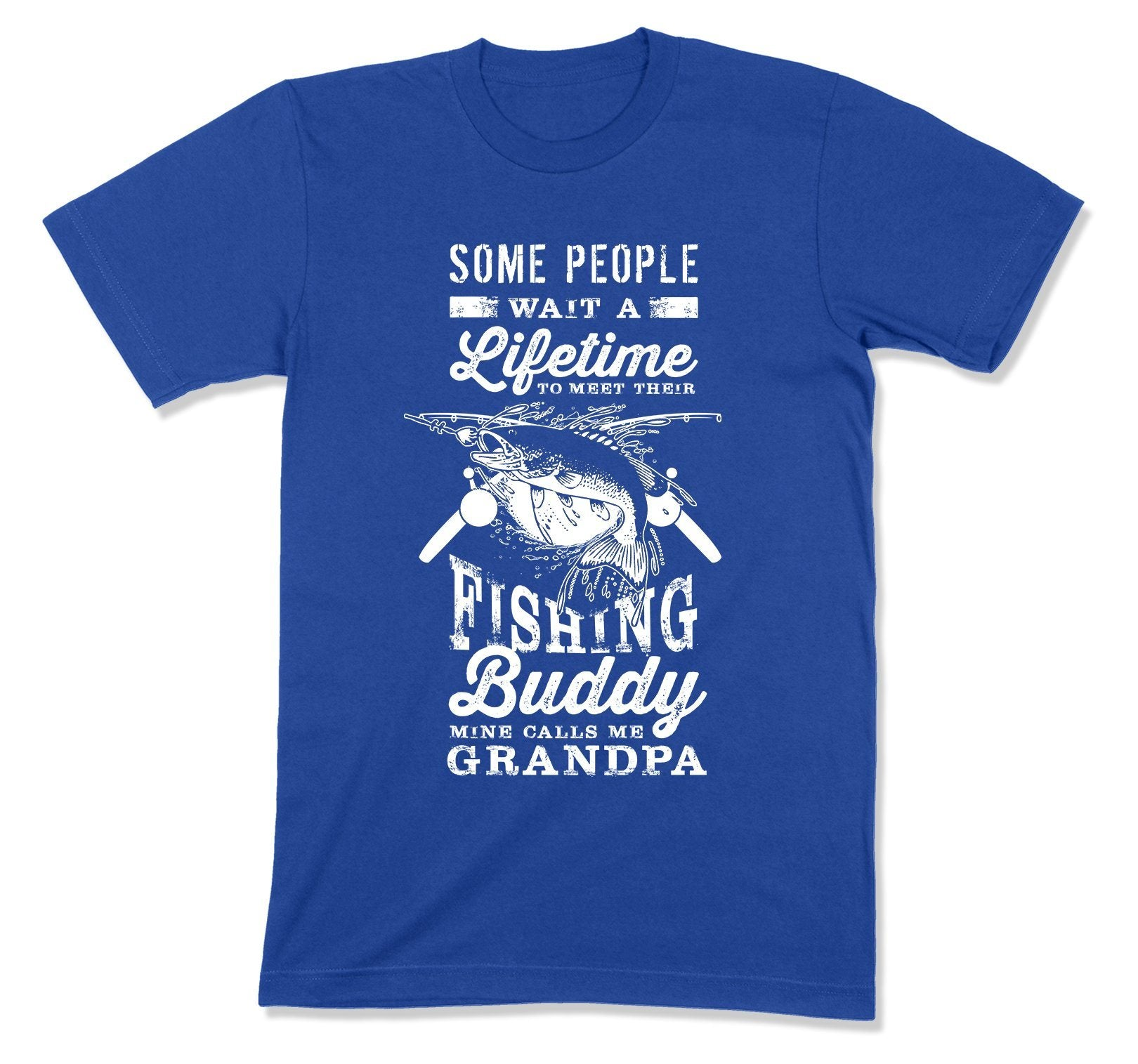 My Fishing Buddy Calls Me Grandpa T-Shirt - FAT-197