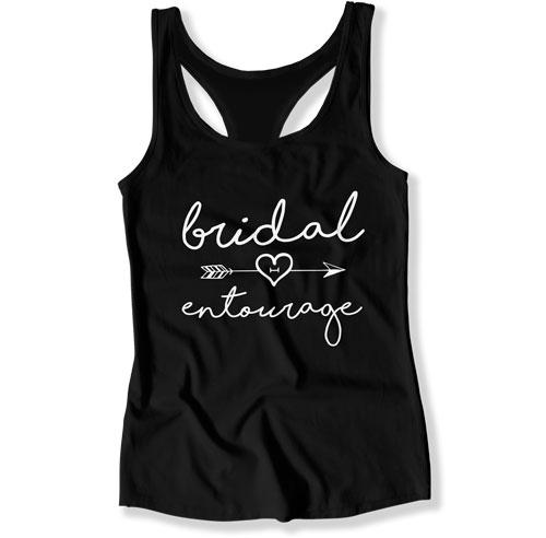 Bride / Maid of Honor / Bridal Entourage Tank Tops - FAT-279-280-282