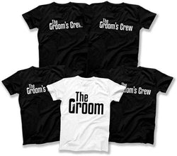 The Groom / The Groom's Crew Mobster Wedding T-Shirts