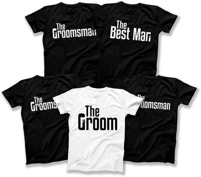Groom And Groomsmen T Shirts