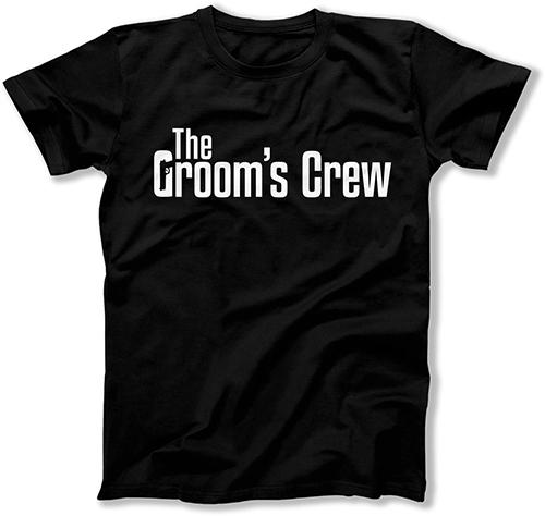 The Groom / The Groom's Crew Mobster Wedding T-Shirts - FAT-299-300