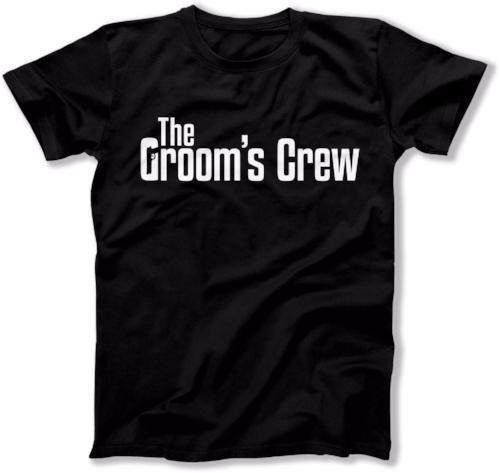 The Groom's Crew Mobster Shirt