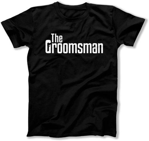 The Groom / The Best Man / The Groomsman Mobster Wedding T-Shirts