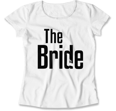 The Groom / The Bride Matching Mobster T-Shirts