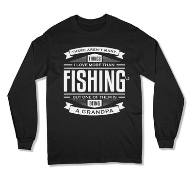 I Love Being A Grandpa More Than Fishing T-Shirt - FAT-33