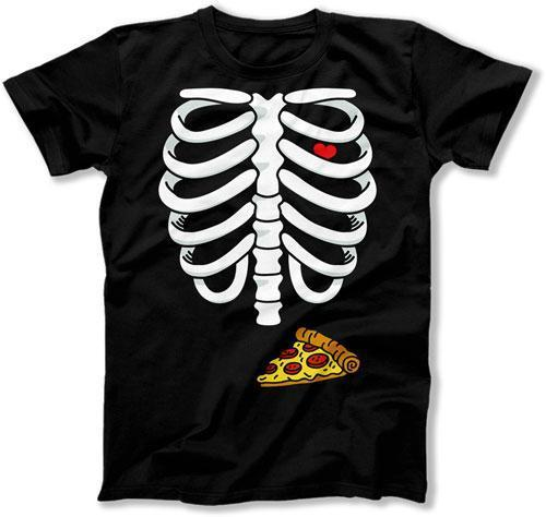 Pizza Dad Skeleton