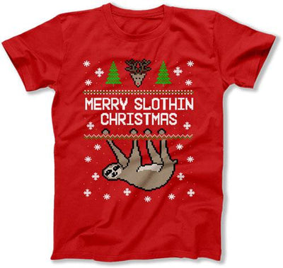 Merry Slothin Christmas - FAT-565