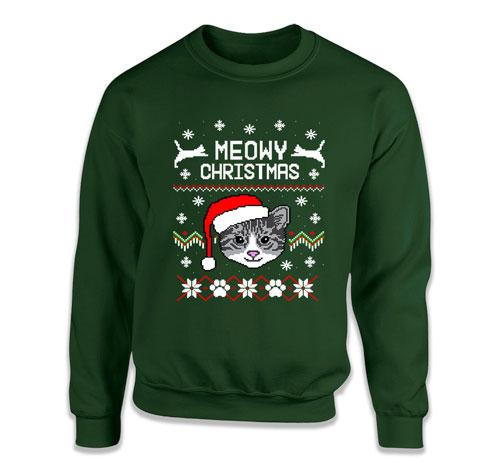 Meowy Christmas Ugly Christmas Sweater