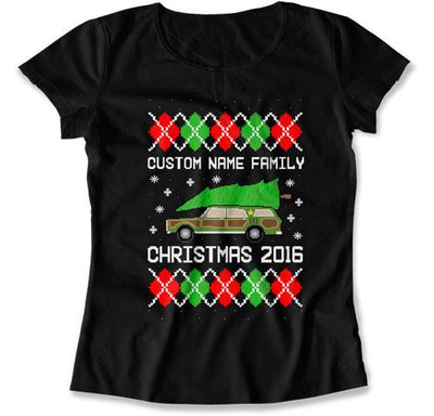 (Custom) Family Christmas Ugly Sweater - FAT-573