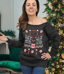 I'm Hoping For A White Christmas Ugly Sweater - FAT-579