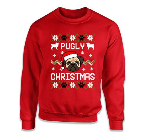 Pugly Christmas Ugly Christmas Sweater