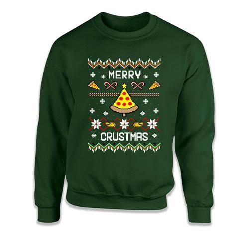 Merry Crustmas Ugly Christmas Sweater