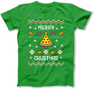 Merry Crustmas Ugly Christmas Sweater - FAT-640