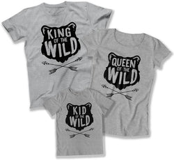 King of the Wild / Queen Of The Wild / Kid Of The Wild