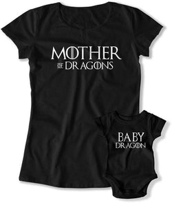 Mother of Dragons / Baby Dragon - - FAT-810-811