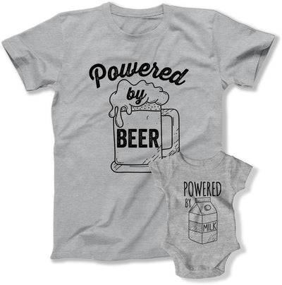 Powered By Beer / Powered By Milk - - FOT-11-12