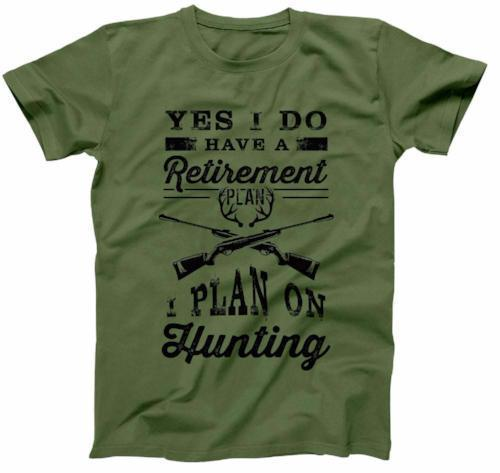MENS - I Plan On Hunting - FAT-211