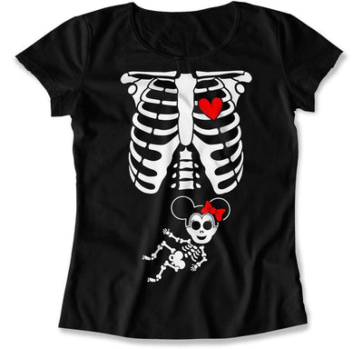Minnie Mouse Baby Skeleton - HAL-07