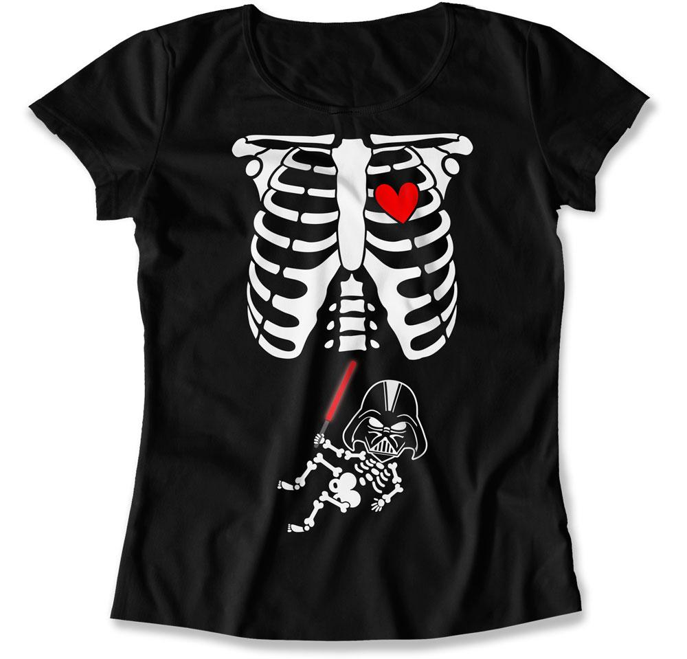 Darth Vader Baby Skeleton T-Shirt - HAL-12