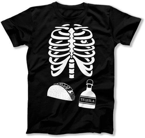 Taco and Tequila Dad Skeleton