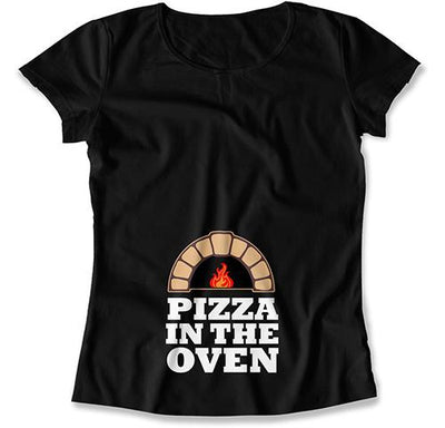 Pizza In The Oven T-Shirt - MAT-565
