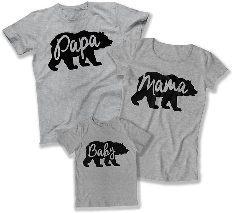 Mom Dad And Me Shirts