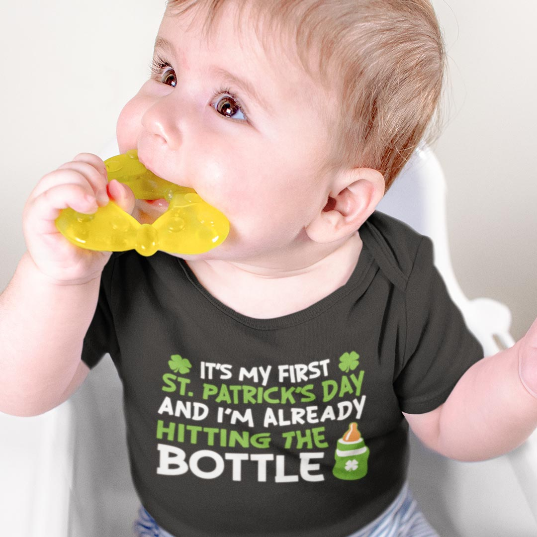 It's My First St Patrick's Day Baby T-Shirt