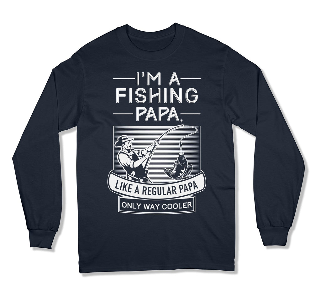 I'm A Fishing Papa T-Shirt - MD-426