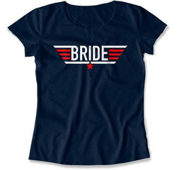 Bride Pilot Wings T-Shirt - MD-436
