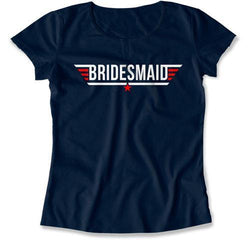 Bridesmaid Pilot Wings T-Shirt - MD-436