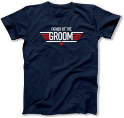 Father of the Groom Pilot Wings T-Shirt - MD-436