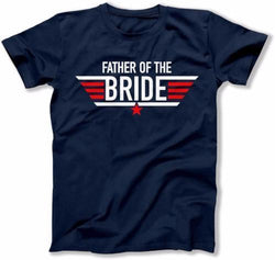 Father of the Bride Pilot Wings T-Shirt - MD-436