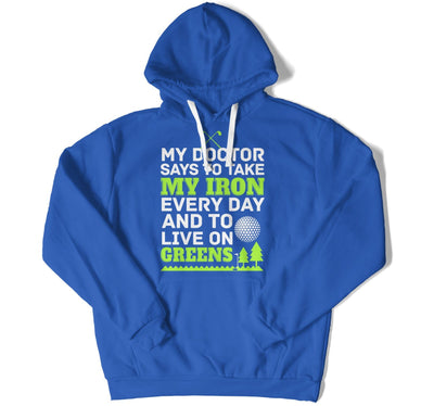 My Doctor Says To Take My Iron T-Shirt - MD-482
