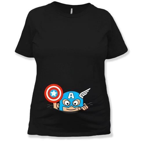 MATERNITY - Peeking Baby Superhero - MD-515