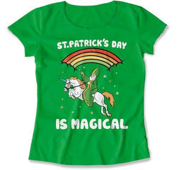 LADIES - St Patrick's Day Is Magical - MD-750