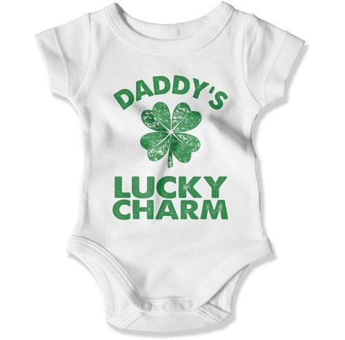 BABY BODYSUIT - Daddy's Lucky Charm - MD-781
