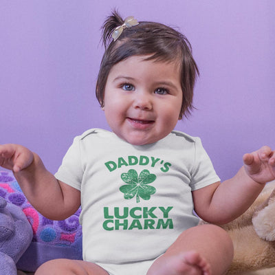 Daddy's Lucky Charm Baby T-Shirt