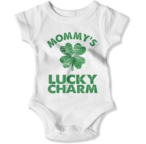 BABY BODYSUIT - Mommy's Lucky Charm - MD-782