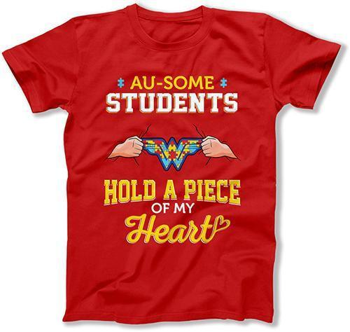 MENS - Au-some Students Hold a Piece of my Heart - MD-874