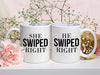 She Swiped Right / He Swiped Right Mugs - MG-19-20