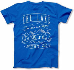 The Lake Is Calling And I Must Go T-Shirt - FAT-246