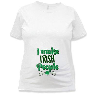 St Patricks Day Pregnancy Shirt
