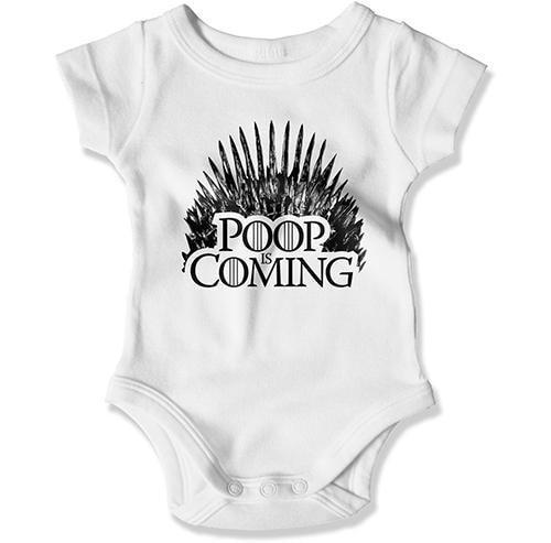 BABY BODYSUIT - Poop Is Coming