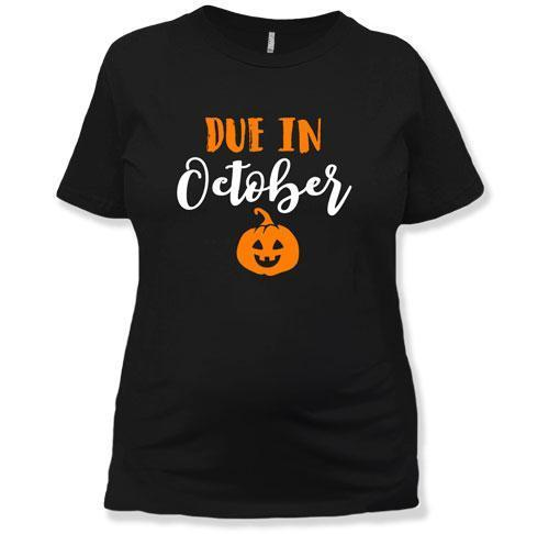 October Pregnancy Shirt