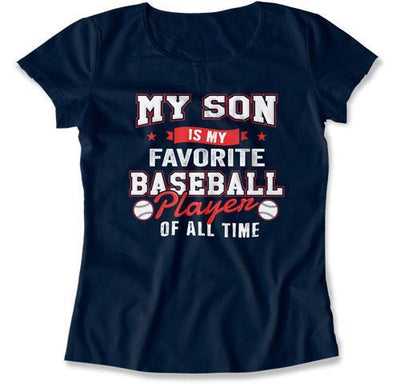 LADIES - My Son Is My Favorite Baseball Player - TEP-1043