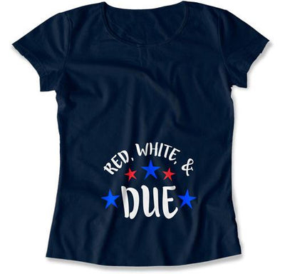 Red, White & Due T-Shirt - TEP-1183